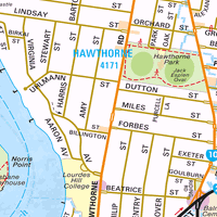Map of Fortitude Valley QLD 4006  Census Demographics  Melway