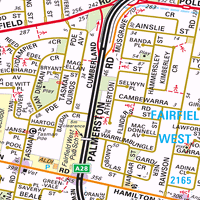 Map of Canley Vale NSW 2166  Census Demographics  Melway