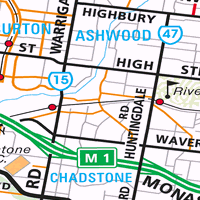 Map of Keysborough, VIC 3173 - Census Demographics And Crime