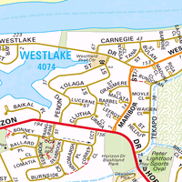 Map Australia 4074.Map Of Westlake Qld 4074 Census Demographics Melway Sydway